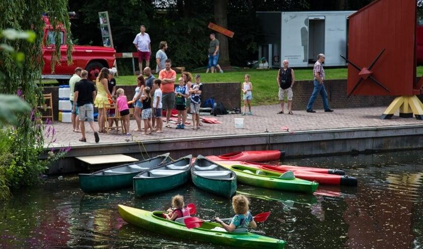 Het Openluchttheater wil bij de organisatie van het Berkelfestival een soortgelijke sfeer creëren als bij het eigen Achterhoeks Streekfestival. Foto: PR Openluchttheater Eibergen / Henk ter Horst