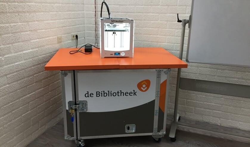 Een 3D-printer. Foto: PR