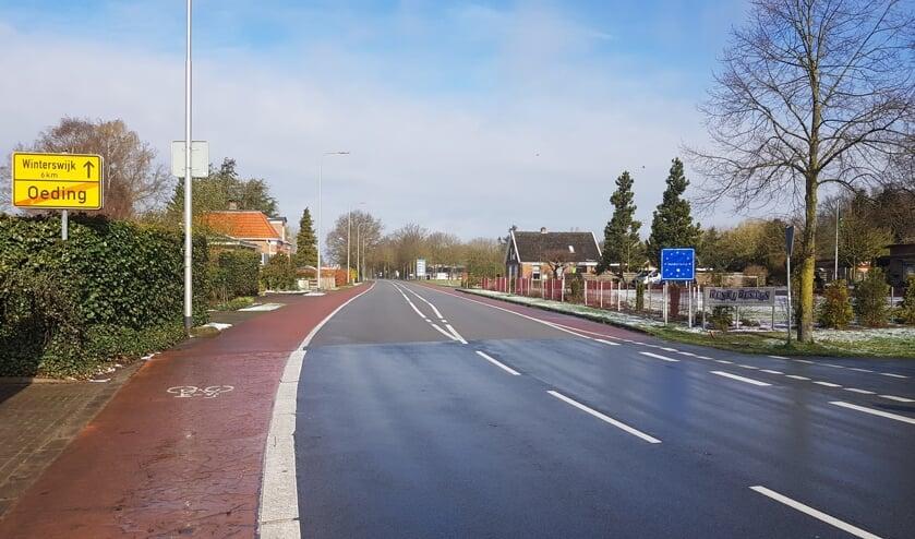Grensovergang Oeding is uitgestorven. Foto: Han van de Laar