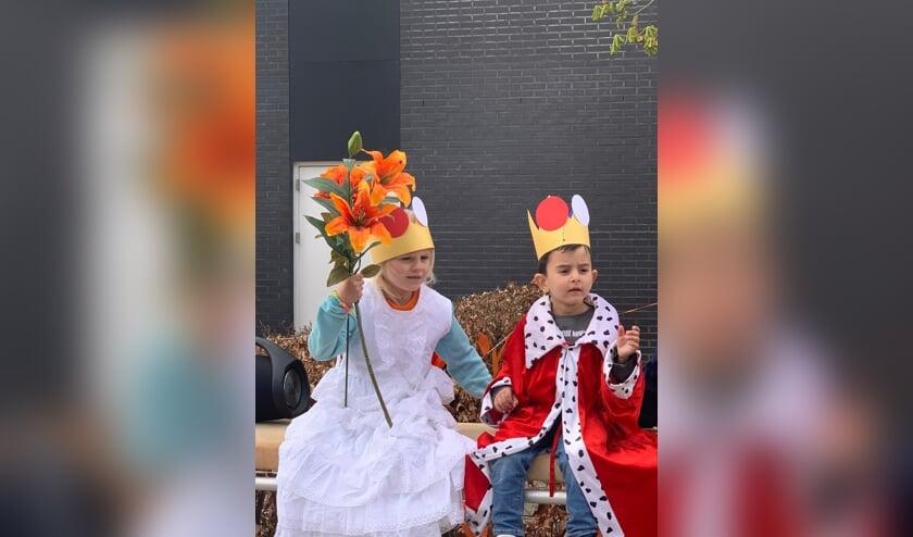 Koning Ramiz & koningin Dilara van de Korenburg. Foto: PR de Korenburg