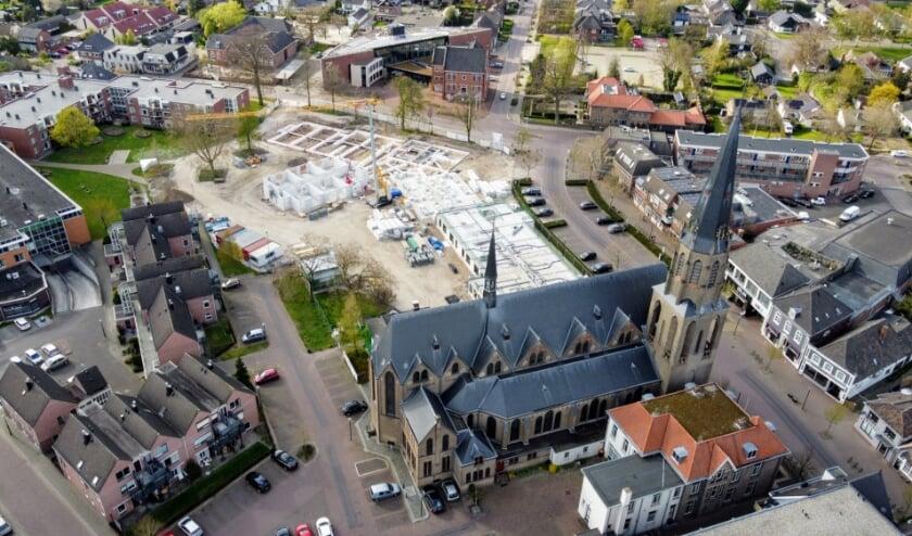 Bovenaanzicht nieuwbouw Antoniushove. Foto: Paul van Druten