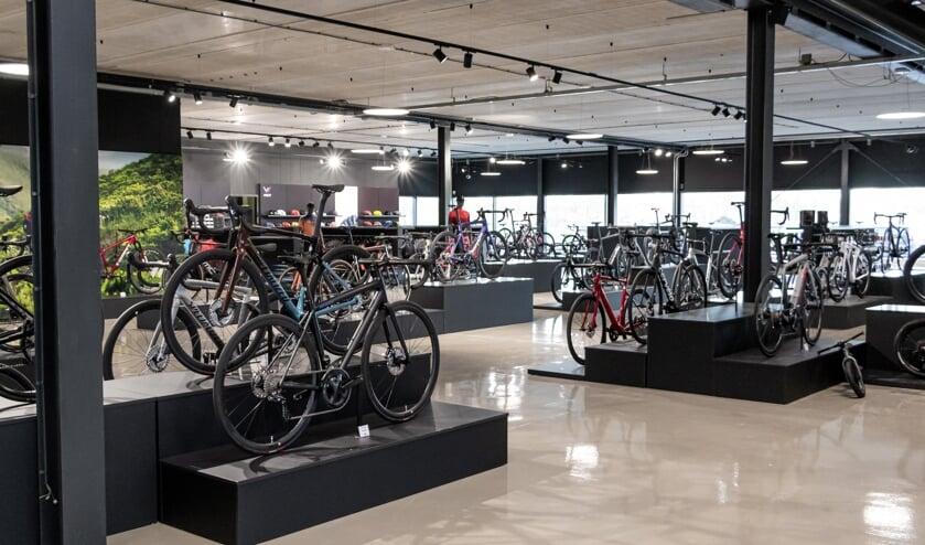 En uitgebreide afdeling fietsen. Foto: PR
