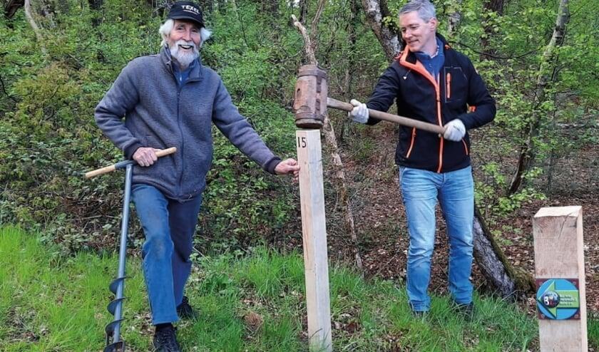 <p>Dankzij Dolf & Michel Bierhuizen gingen vorige week de eerste palen de grond in. Foto: PR</p>