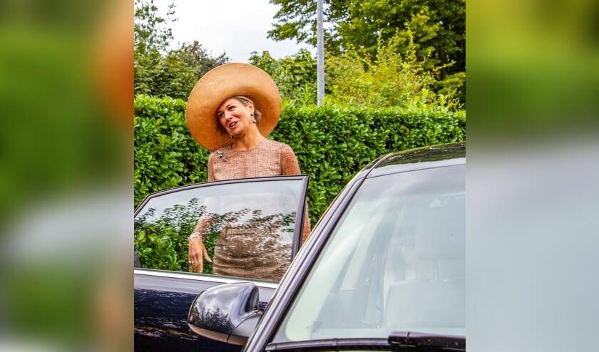 Koningin Máxima bezoekt Toldijk. Foto: Liesbeth Spaansen