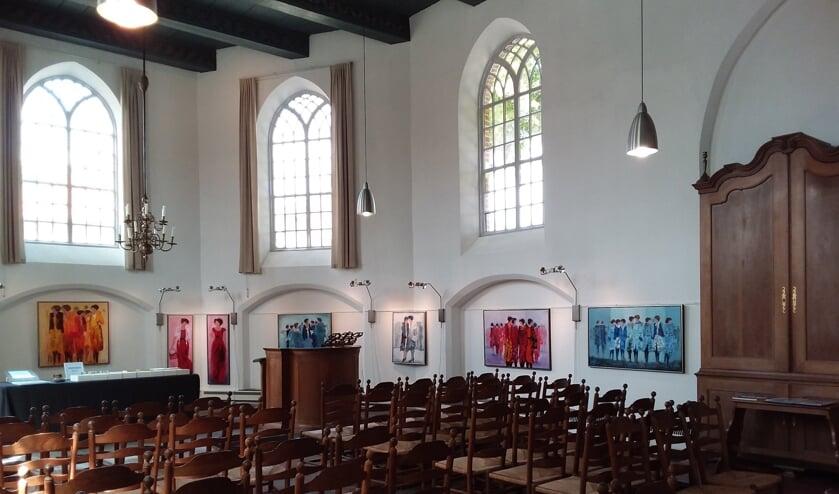 <p>In de Kapel van Bronkhorst zullen weer exposities worden ingericht. Foto: Jaap Berenbak</p>