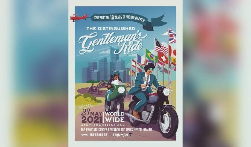 <p>De Distinguished Gentleman&#39;s Ride wordt ook in Bronckhorst verreden. Beeld: PR</p>