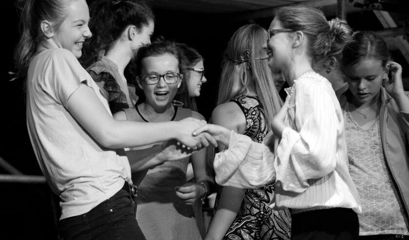 Een impressie van een theaterles van Gekkoo. Foto: PR