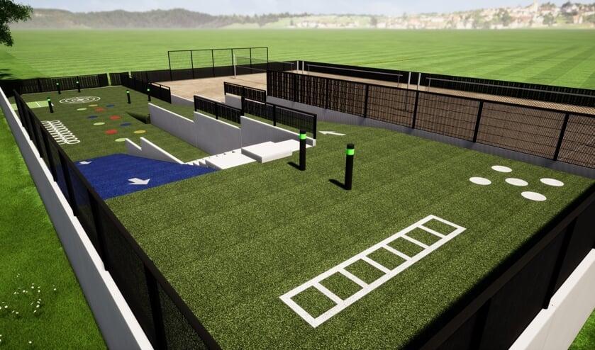 Een impressie van het multifunctionele Vitaal Sportpark.