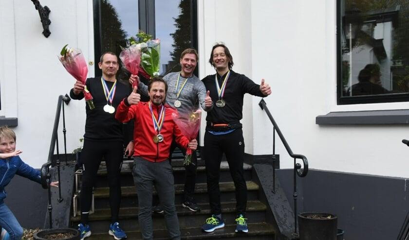 <p>Olivier Stapper, Bastiaan van de Noort, Daniel Spikker en Tom van der Laan. Foto: Alice Kiers</p>