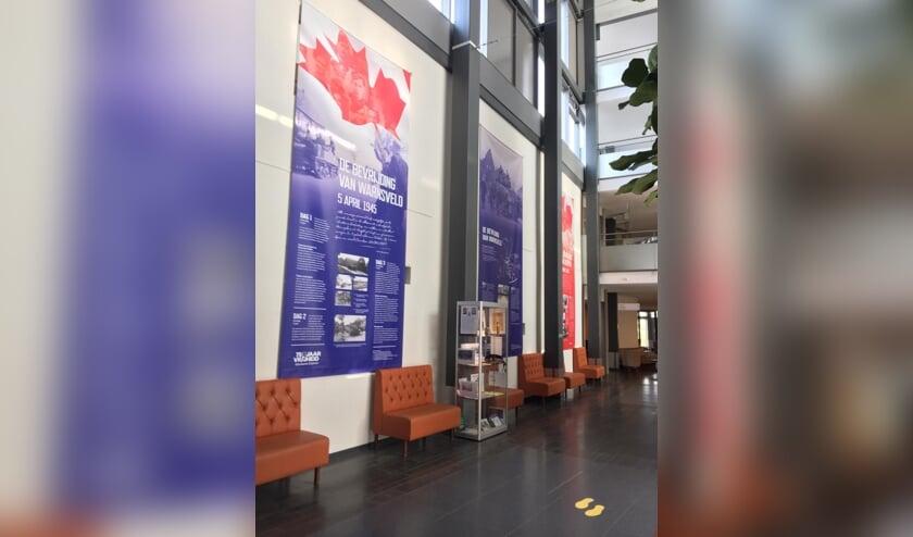 De tentoonstelling 'Wij zijn vrij' is voor bewoners en medewerkers in De Lunette van Sensire te zien. Foto: PR