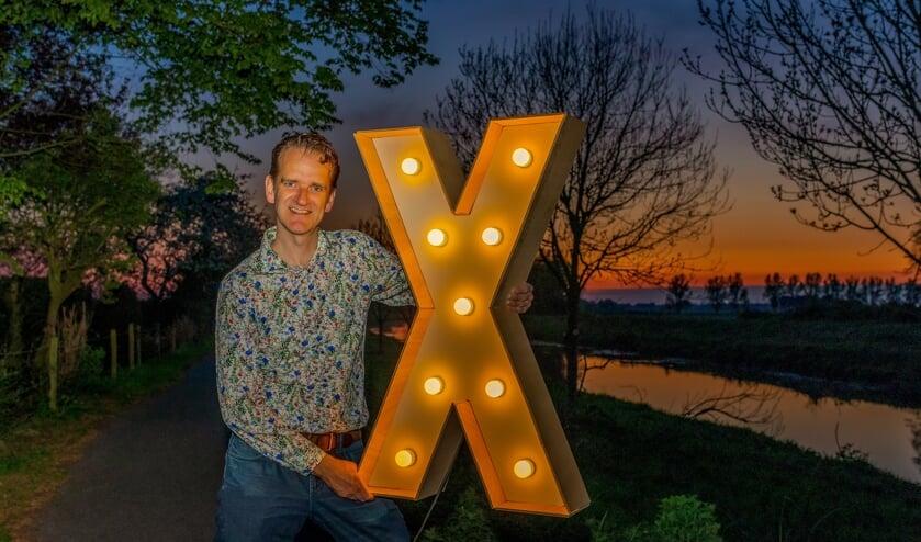 Lex Schellevis kijkt enorm uit naar Europadag en 'zijn' Verlicht de Vrijheid. Foto: Michel De Bont