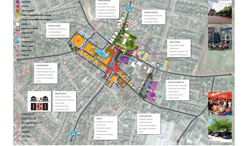 <p>De kansenkaart voor het centrumgebied van Zelhem. Foto: PR</p>