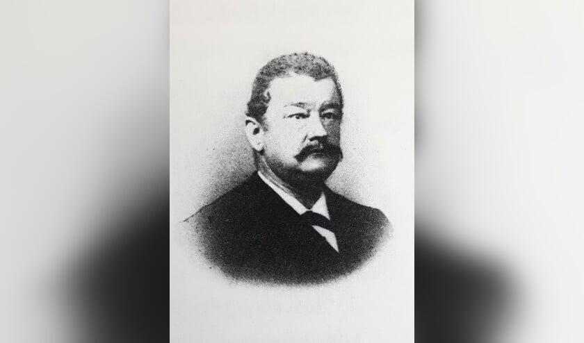 Martinus Meyjes, burgemeester van Hengelo 1901-1909. Archief Willy Hermans