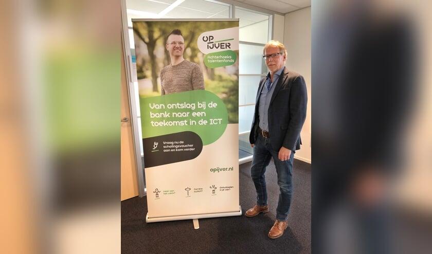 Henk Korten: de start van het talentenfonds was goed, al een aantal vouchers verstrekt. Foto: Miriam Szalata