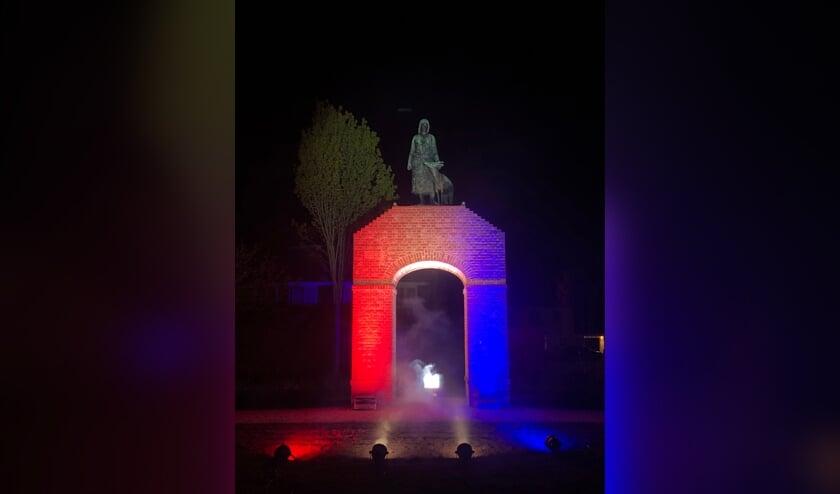Elk monument krijgt een prominente rol. Foto: PR