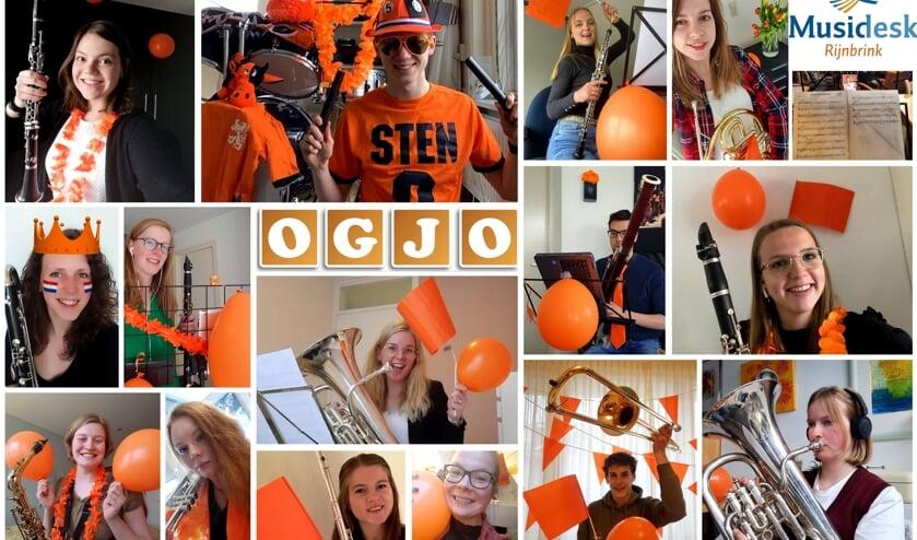 De muzikanten van OGJO hebben het stuk ingespeeld. Foto: PR