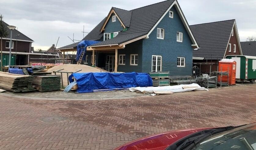 Houtskeletbouw in Lintelo. Foto: Gerrit Migchelbrink