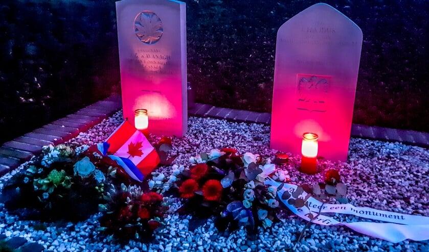 <p>Schoolkinderen adopteerden het graf van Lieutenant John Gordon Kavanagh. Foto: Peter van Drunen</p>