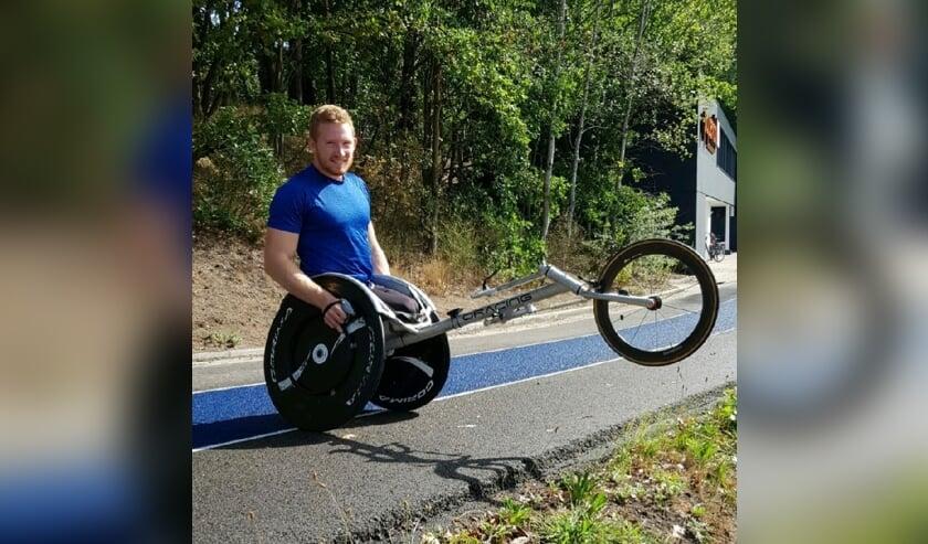 <p>Rens van de Waterlaat probeert deze week in Polen de Paralympische Spelen te halen. Foto: PR</p>