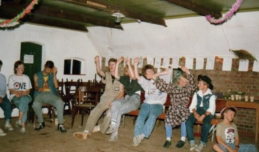 <p>Jeugdclub Varssel in 1987. Foto: archief</p>