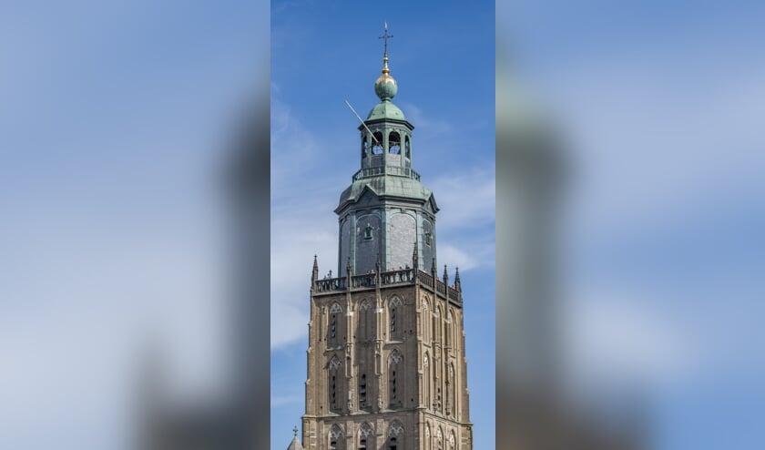 De toren van de Walburgiskerk. Foto: PR