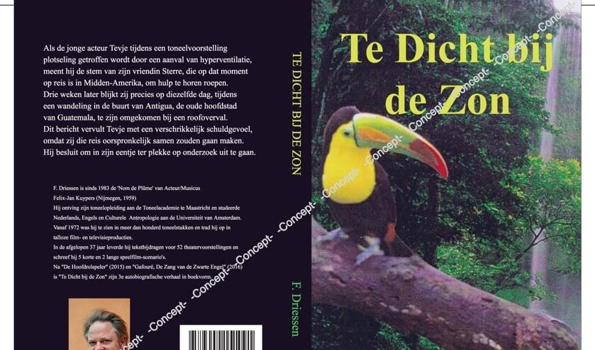<p>De omslag van het derde boek van F. Driessen. Foto: PR</p>