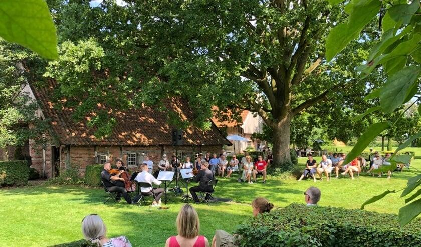 Concert bij Rosenhaege. Foto: PR