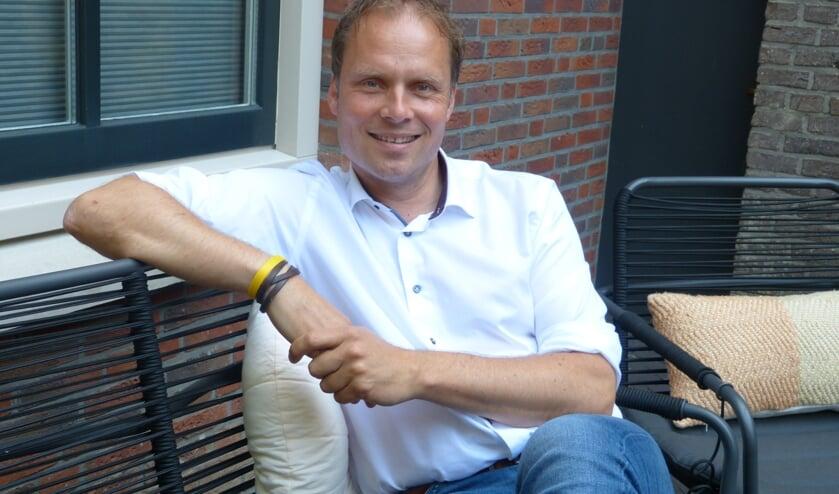 Hans ten Lindert is bijna een jaar voor de gemeenteraadsverkiezingen er als lijsttrekker klaar voor. Foto: Bernhard Harfsterkamp