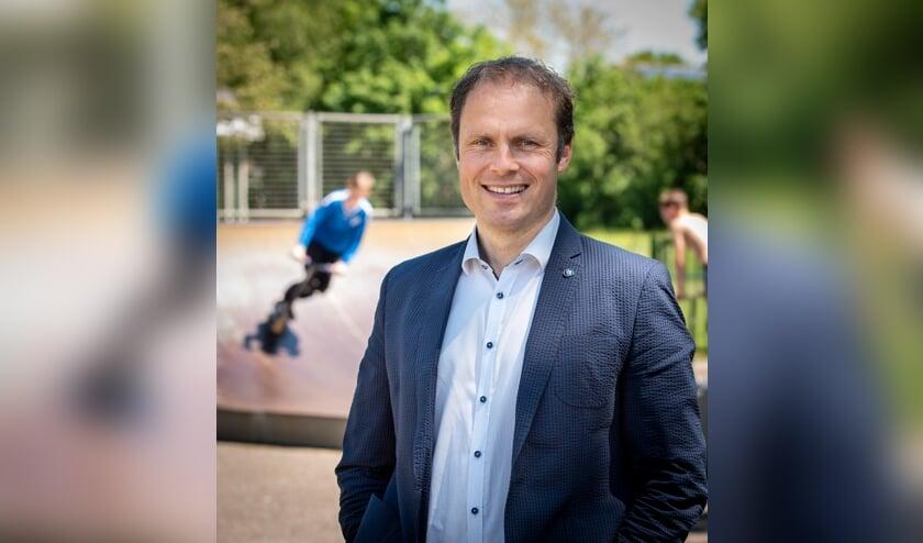 <p>Hans te Lindert voert de CDA-lijst aan tijdens de gemeenteraadsverkiezingen in 2022. Foto: Arnold Joost</p>