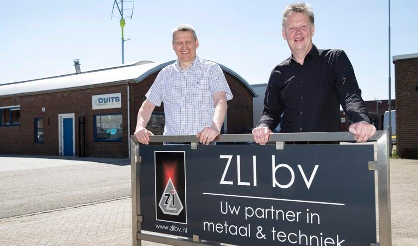 <p>Alfred Stokvis (links) en Gerard Keessen. Foto: Patrick van Gemert/Zutphens Persbureau </p>