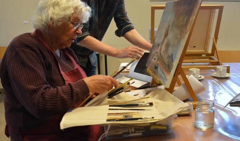 <p>De cursus schilderen start binnenkort. Foto: PR</p>