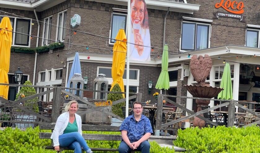 <p>Lijsttrekkerskandidaten Linda van der Berg en Jarno Hilge. Foto: PR</p>