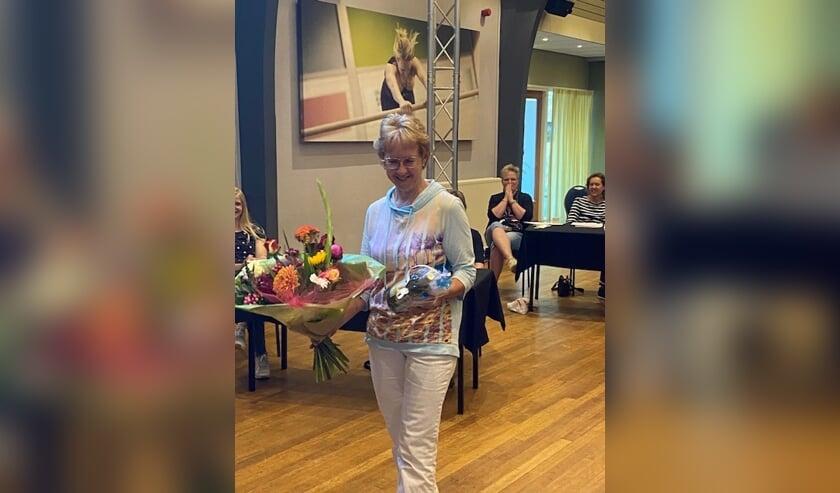 Gerda van Eerden (foto) is pas 53 jaar oud, maar toch al 50 jaar lid. Een mooie prestatie! Foto: PR