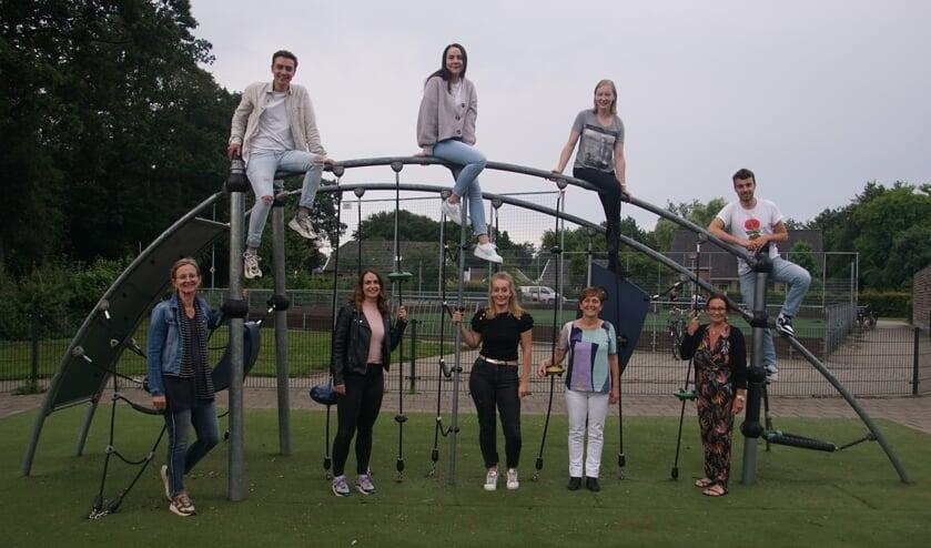 Team zomerschool 2021. Foto Frank Vinkenvleugel