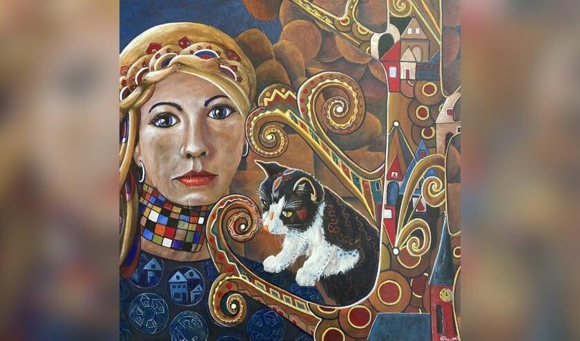<p>Werk van Annie Elissen: herinnering aan de keramieken huisjes van Analies. Foto: PR</p>