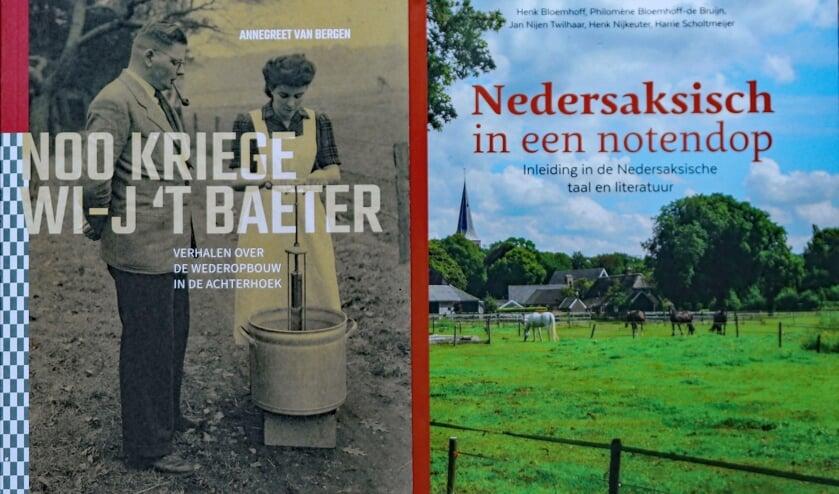 De covers van de twee boeken die Sander voor deze aflevering las. Foto: Sander Grootendorst