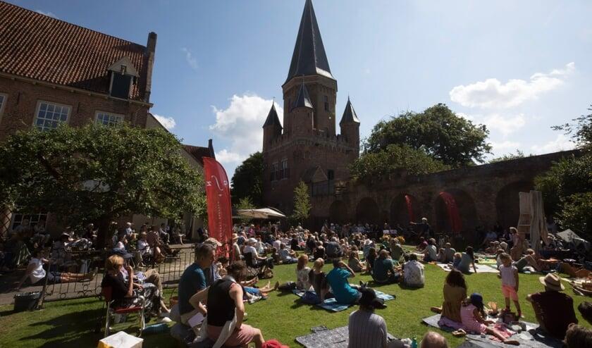 <p>Picknick lunchconcert in de tuin van Dat Bolwerck. Foto: PR</p>