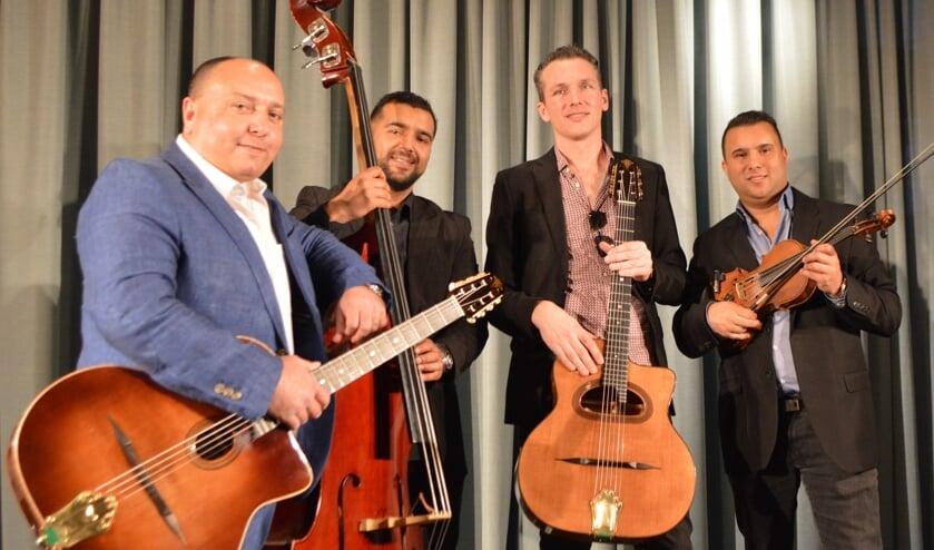 <p>Joost Zoeteman/Wattie Rosenberg kwartet. Foto: PR</p>