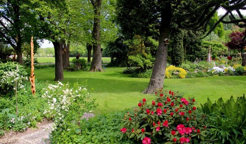 <p>De tuin van Frans en Annemie Giesen in Loil is te bezichtigen. Foto: PR</p>