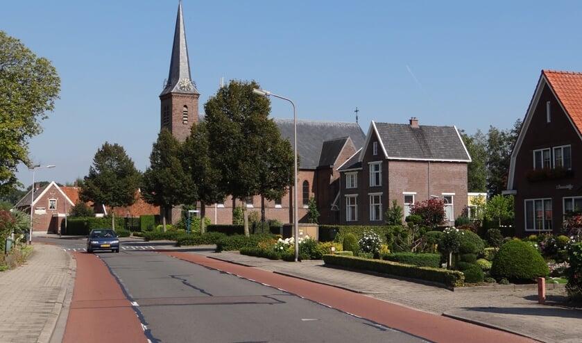 Het Rekkense kerkgebouw. Foto: PR