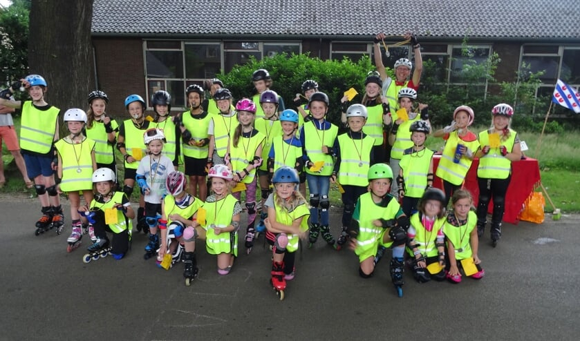 <p>De jeugdleden van de Hessenrijders. Foto: Wim van Hof</p>