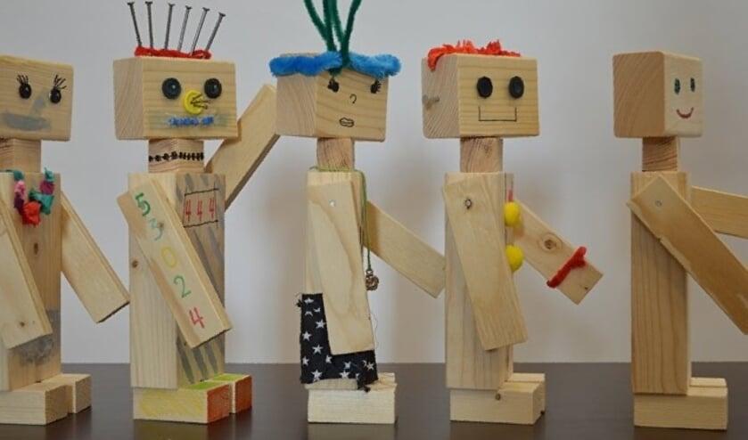 Workshop voor kinderen, houtbewerking. Foto PR