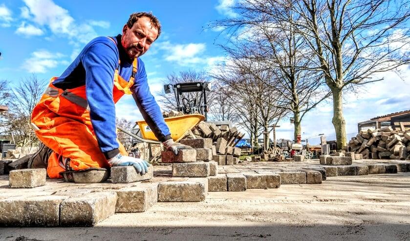 'Stratenmaker' Jan Menkveld wil na tien jaar nog gewoon doorgaan. Foto: Luuk Stam