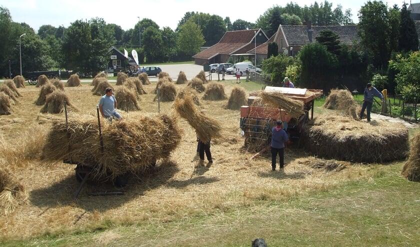 Dit jaar geen oogstfeest in Rekken. We moeten het met de foto's van eerder doen. Foto: PR