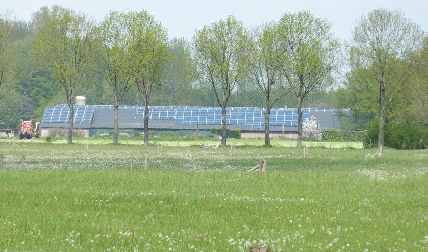 Eerst onderzoek naar meer zonnepanelen op daken in buitengebied. Foto: Bernhard Harfsterkamp