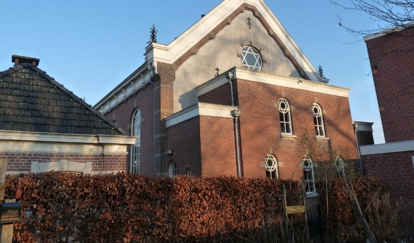 <p>Het synagogecomplex. Foto: Mirjam Schwarz</p>