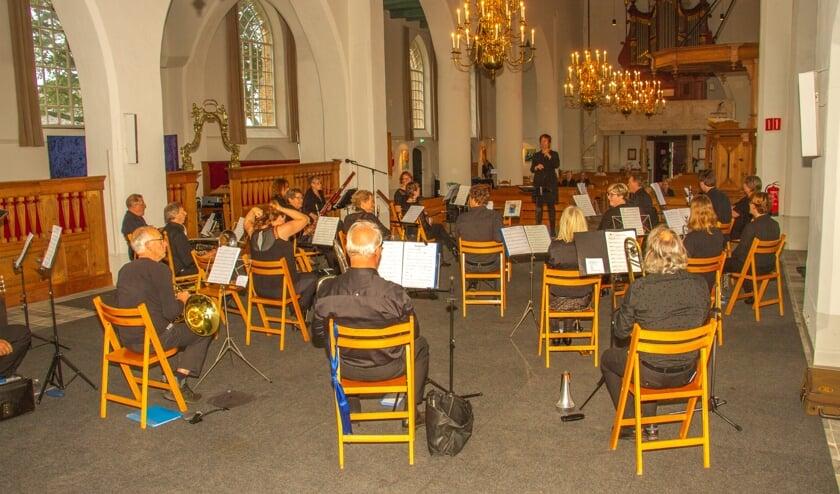 <p>Tijdens de Open Monumentendag 2020 mocht Nieuw Leven nog een concert geven in de Remigiuskerk. Foto: Liesbeth Spaansen</p>