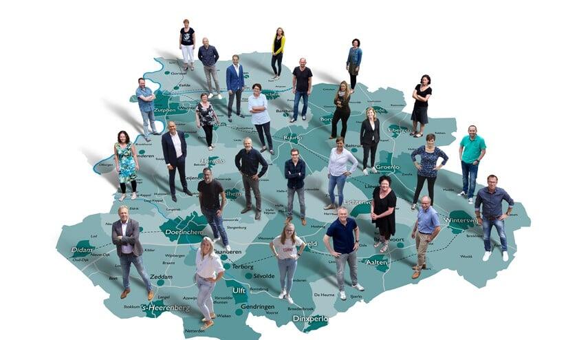 <p>Het team van Achterhoek Nieuws staat klaar om lezers en klanten in de hele regio goed te bedienen. Foto: Achterhoek Nieuws</p>