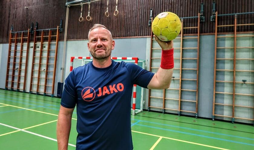 <p>Trainer Lars Neumann wil zich met Quintus komend seizoen handhaven in de landelijke hoofdklasse. Foto: Luuk Stam</p>