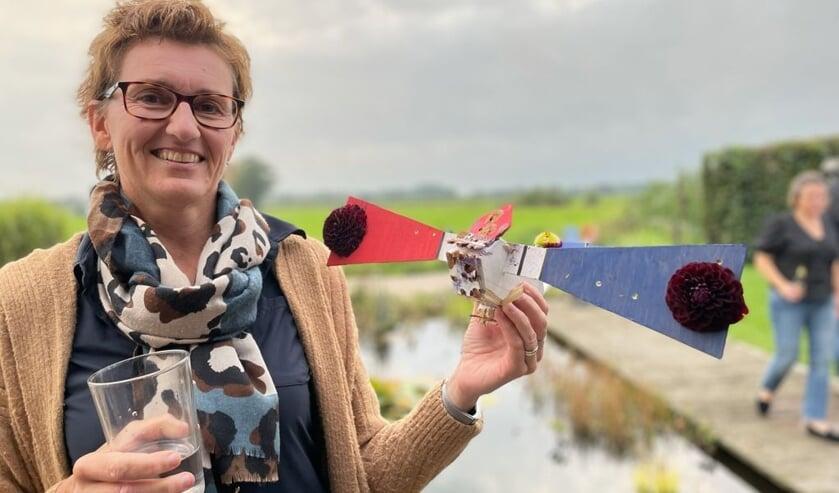 Ilja Scholten 'alternatieve' Koningin vogelschieten